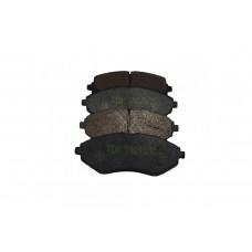 Тормозные колодки задние Сhevrolet Aveo T200-300, TDK1699B, к-т