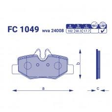 Тормозные колодки FC 1049