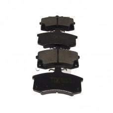 Колодка тормозная передняя Lada 110, 111, 112, TDK1325, к-т