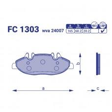 Тормозные колодки FC 1303