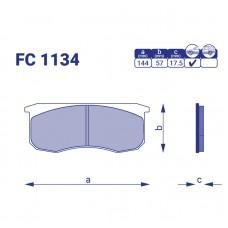 Тормозные колодки УАЗ 3160, FC1134, к-т