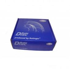 Диск тормозной передний Daewoo Lanos 1,3 1,5, FC1337BD, шт