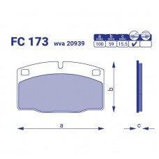Тормозные колодки для авто FC 173