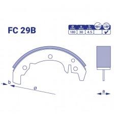 Барабанные колодки FC 29B