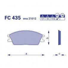 Тормозные колодки для авто FC 435