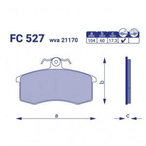 Справка #78 FriCo ВАЗ-2108 передние