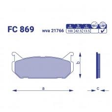 Тормозные колодки для авто FC 869