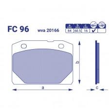 Тормозные колодки для авто FC 96