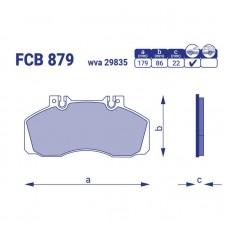 Тормозные колодки для авто FCB 879
