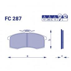 Тормозные колодки FC 287